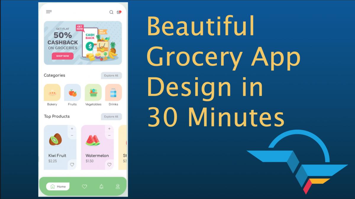 Grocery App UI in Flutter - FlutterAgency
