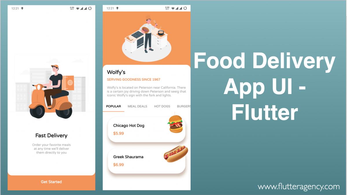 Food Delivery App in Flutter