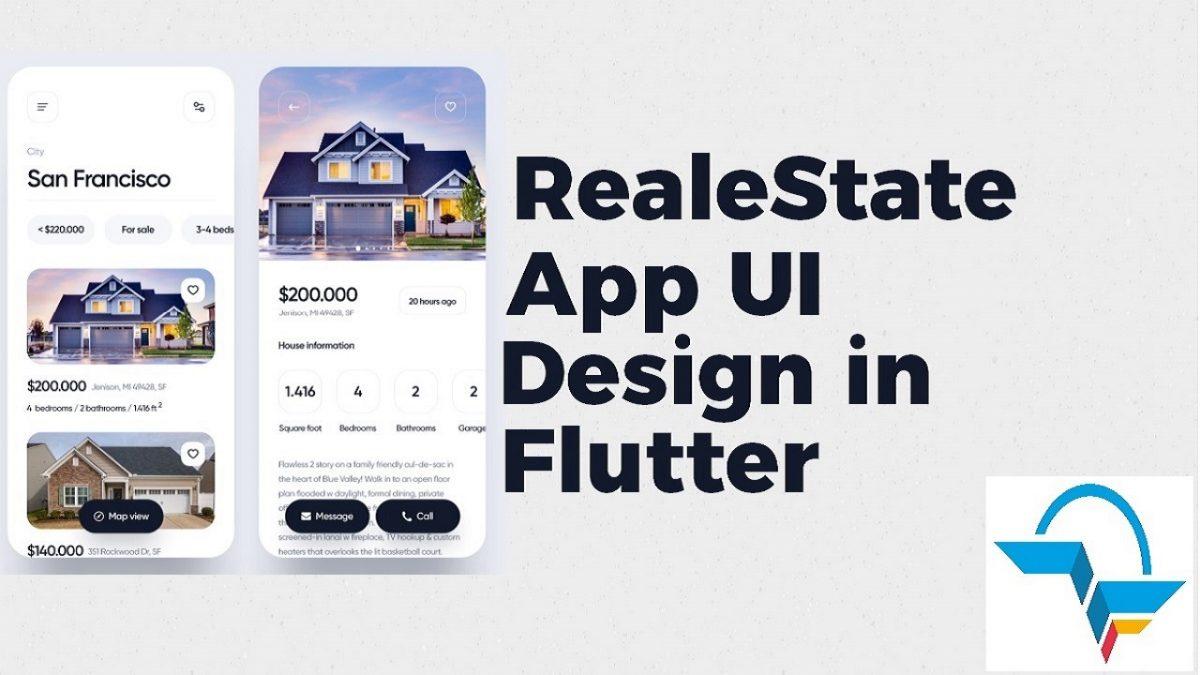 RelaeStateApp UI - Flutter Agency
