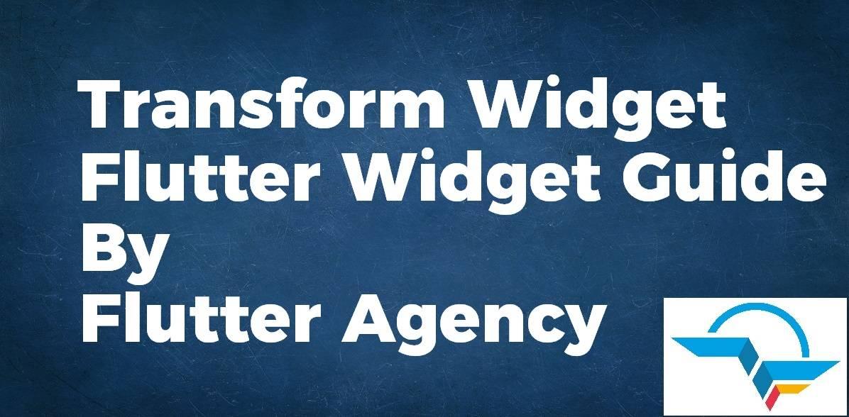 Transform Widget
