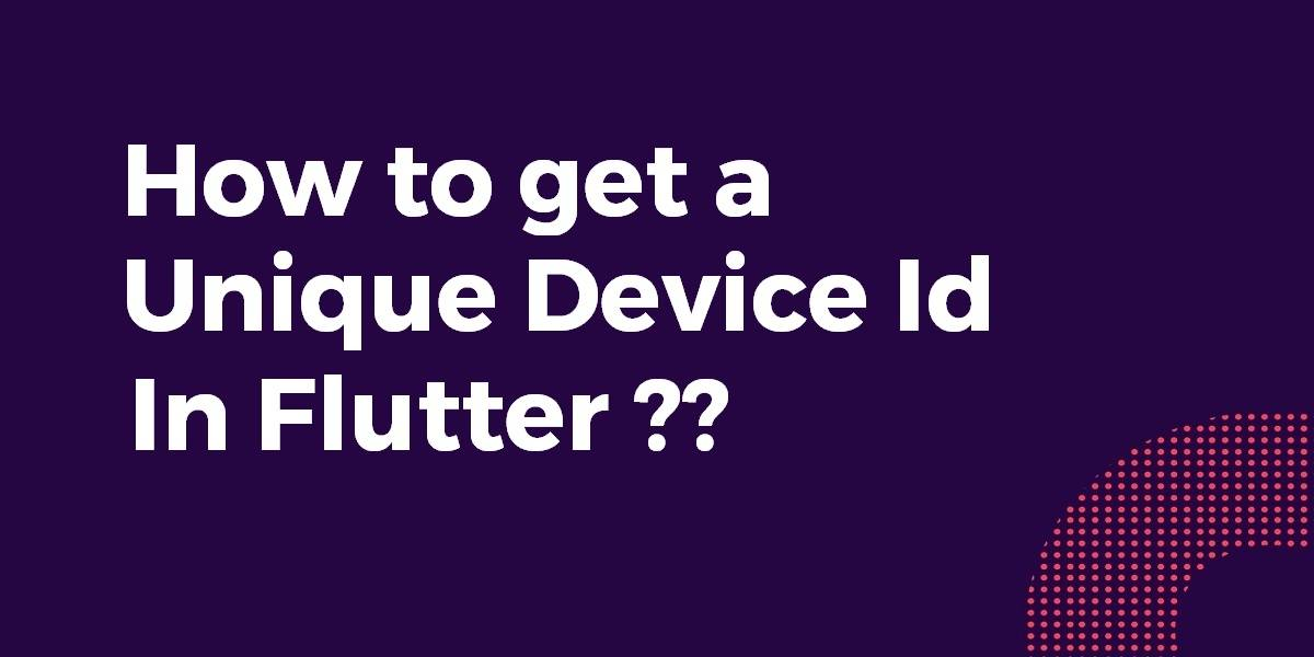 Unique Device id In Flutter