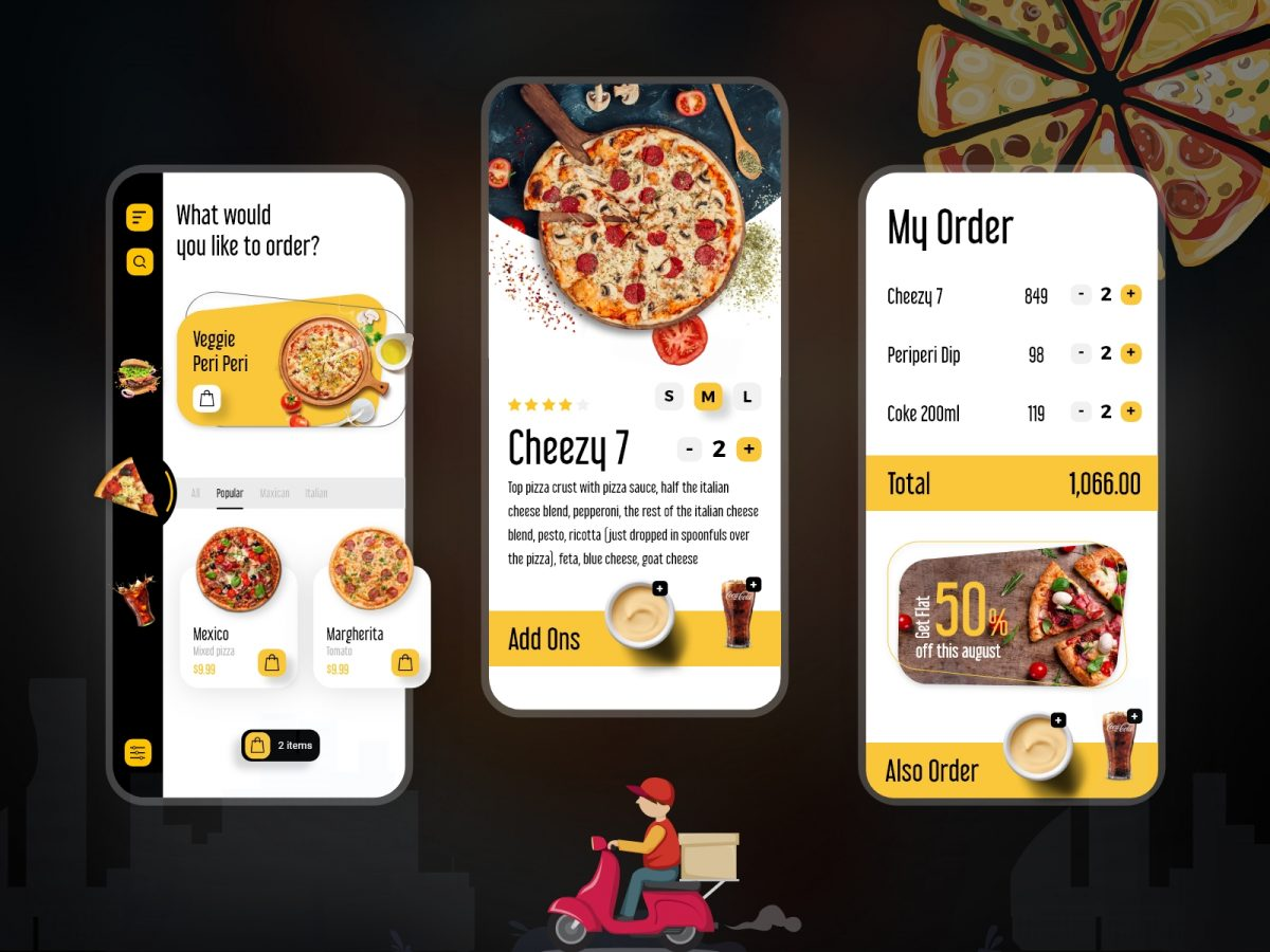 Pizza Ordering Application