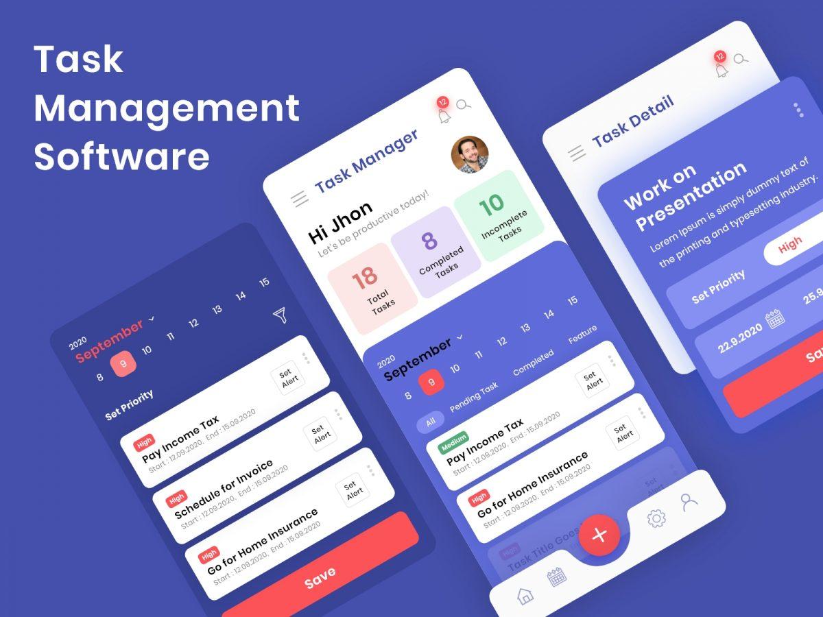 Task Management App In Flutter