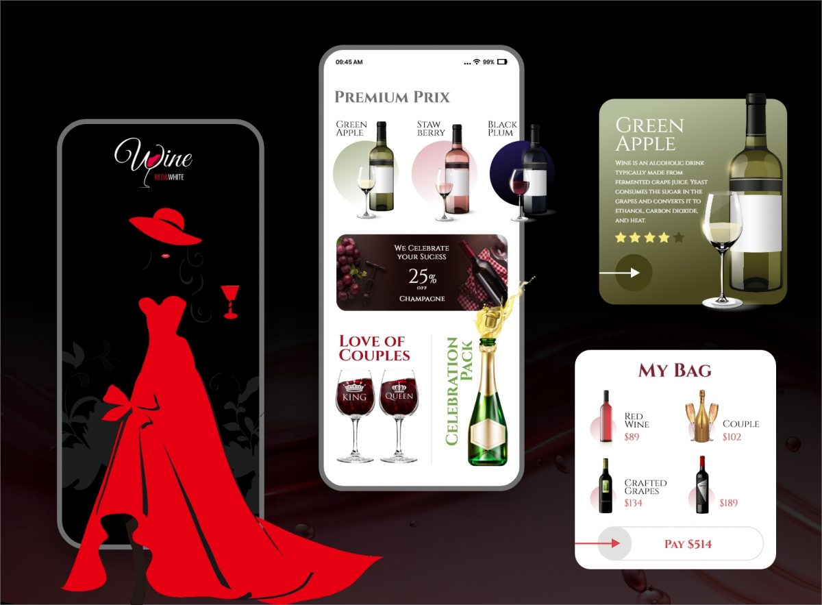 Wine Seller Application In Flutter