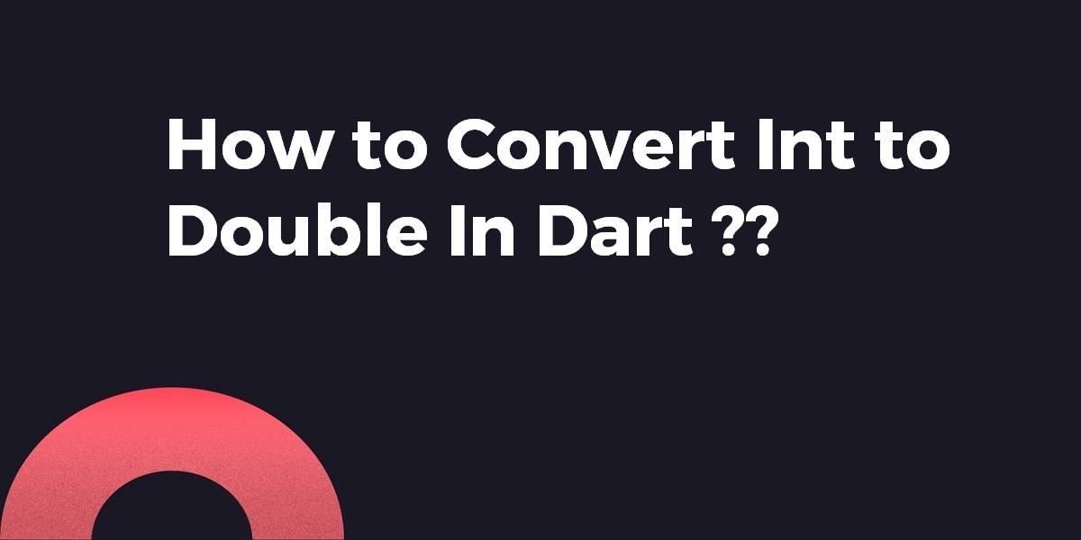 How to Convert Int to Double