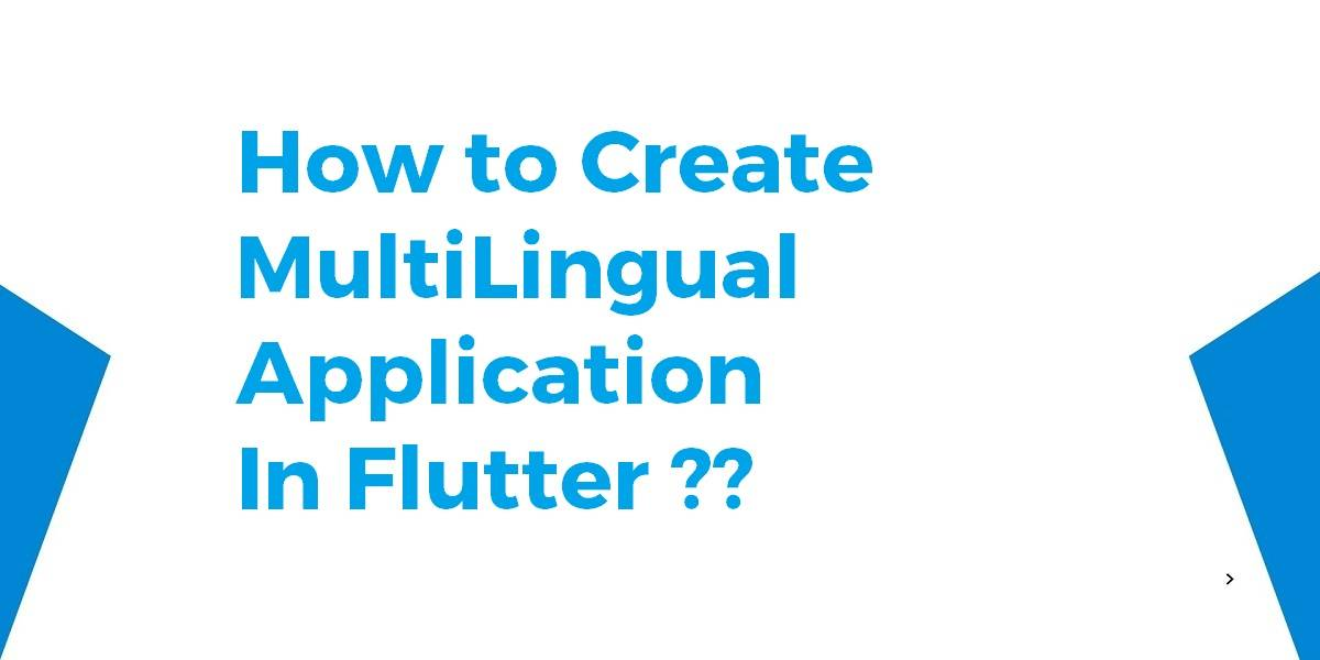 How to Create MultiLingual Application In Flutter