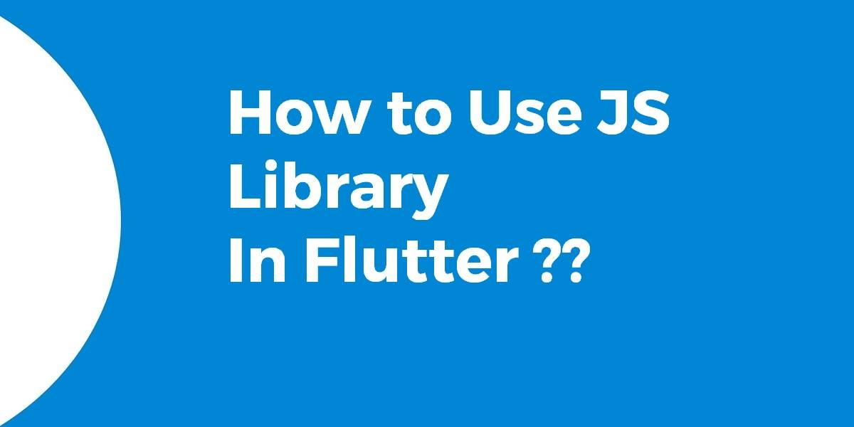 How to Use JS Library In Flutter